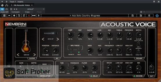 Nembrini Audio Acoustic Voice Guitar Preamp Direct Link Download-Softprober.com