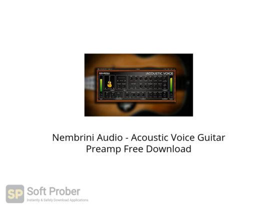 Nembrini Audio Acoustic Voice Guitar Preamp Free Download-Softprober.com