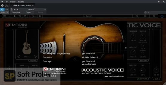 Nembrini Audio Acoustic Voice Guitar Preamp Latest Version Download-Softprober.com