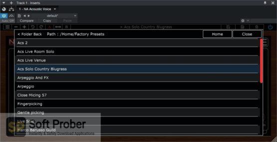 Nembrini Audio Acoustic Voice Guitar Preamp Offline Installer Download-Softprober.com