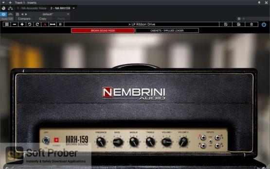 Nembrini Audio MRH159 Brown Sound Guitar Amplifier Direct Link Download-Softprober.com