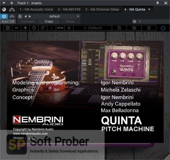 Nembrini Audio NA QUINTA PITCH MACHINE Latest Version Download-Softprober.com