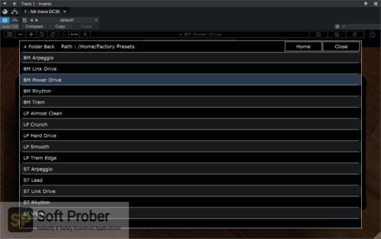 Nembrini Audio VOICE DC30 CUSTOM VALVE GUITAR AMPLIFIER Latest Version Download-Softprober.com