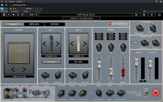 Nembrini Audio VOICE DC30 CUSTOM VALVE GUITAR AMPLIFIER Offline Installer Download-Softprober.com