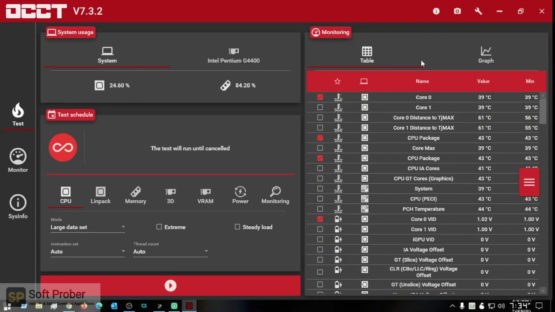 OCCT 8 2021 Direct Link Download-Softprober.com