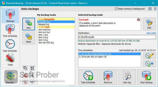 Personal Backup 2021 Direct Link Download-Softprober.com