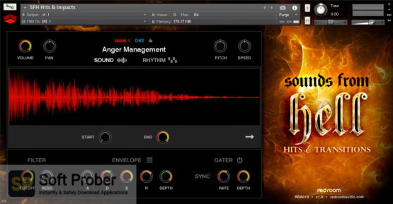 Red Room Audio Sounds From Hell Hits & Transitions Direct Link Download-Softprober.com