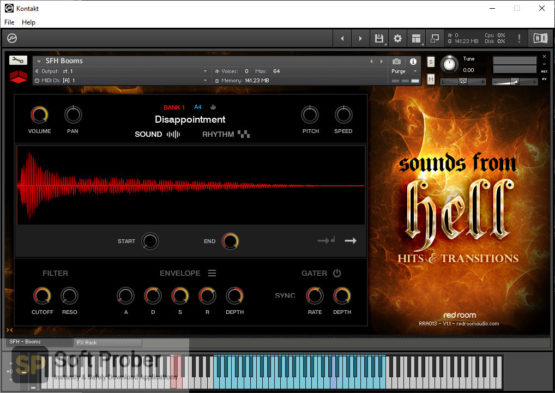 Red Room Audio Sounds From Hell Hits & Transitions Latest Version Download-Softprober.com