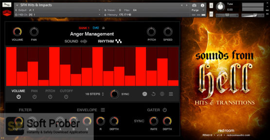 Red Room Audio Sounds From Hell Hits & Transitions Offline Installer Download-Softprober.com