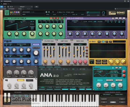 Sonic Academy & Slate Digital ANA 2 Ultra Bundle Direct Link Download-Softprober.com