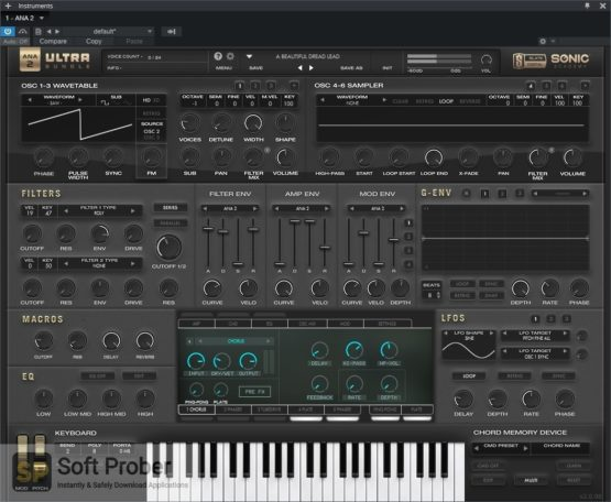 Sonic Academy & Slate Digital ANA 2 Ultra Bundle Latest Version Download-Softprober.com