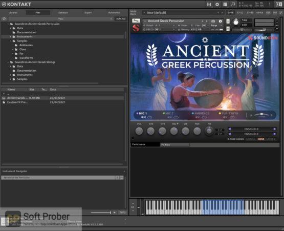 Soundiron Ancient Greek Percussion Latest Version Download-Softprober.com