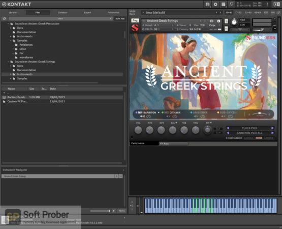 Soundiron Ancient Greek Strings Latest Version Download-Softprober.com