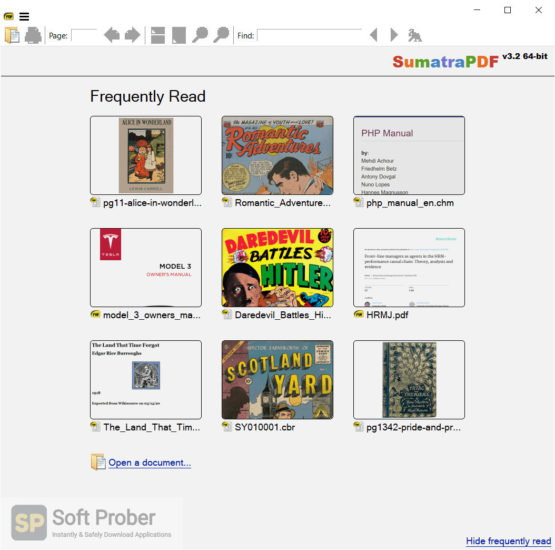 Sumatra PDF 2021 Direct Link Download-Softprober.com