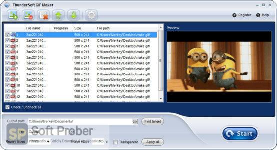 ThunderSoft GIF Maker 2021 Direct Link Download-Softprober.com