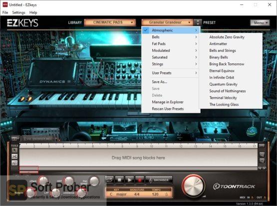 Toontrack EZkeys Cinematic Pads Offline Installer Download-Softprober.com