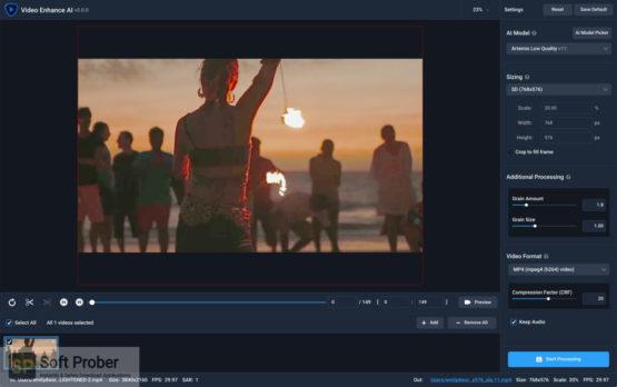 Topaz Video Enhance AI 2021 Latest Version Download-Softprober.com