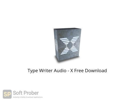 Type Writer Audio X Free Download-Softprober.com
