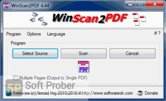 WinScan2PDF 2021 Direct Link Download-Softprober.com