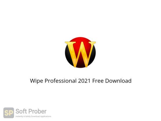 Wipe Professional 2021 Free Download-Softprober.com