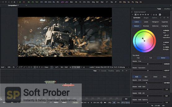 Blackmagic Fusion Studio 17 2021 Latest Version Download Softprober.com
