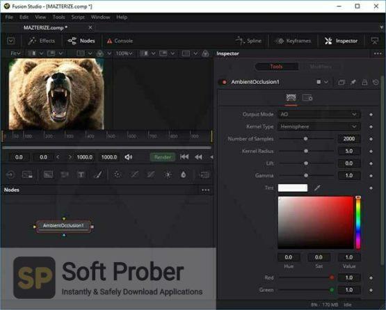 Blackmagic Fusion Studio 17 2021 Offline Installer Download Softprober.com
