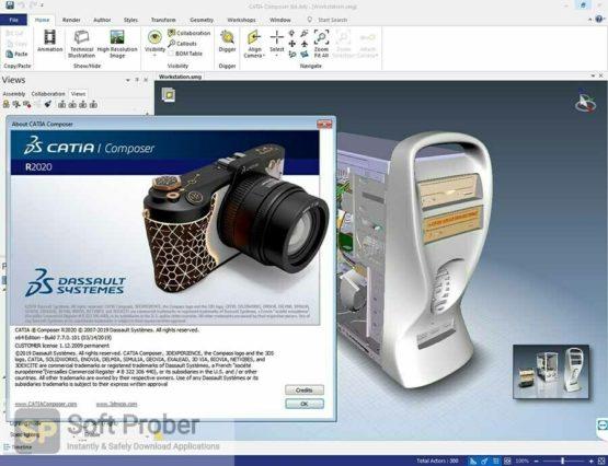 DS CATIA Composer R2022 Offline Installer Download Softprober.com