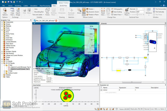 DS SIMULIA CST STUDIO SUITE 2021 Latest Version Download-Softprober.com