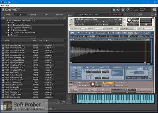 F9 Audio F9 Origins Classic Basses Vol 1 & 2 Latest Version Download Softprober.com
