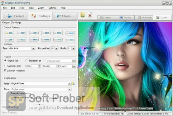 Graphics Converter Pro 2021 Direct Link Download-Softprober.com