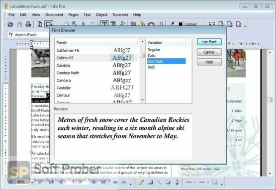 Infix PDF Editor Pro 2021 Offline Installer Download Softprober.com