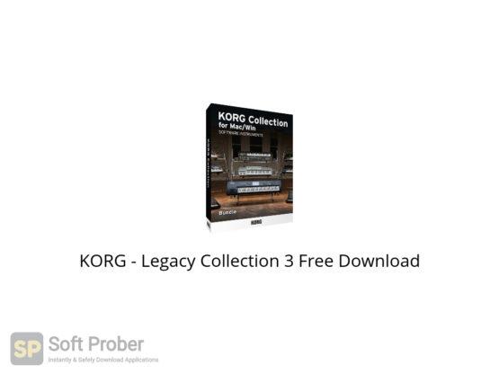 KORG Legacy Collection 3 Free Download-Softprober.com