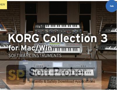 KORG Legacy Collection 3 Offline Installer Download-Softprober.com