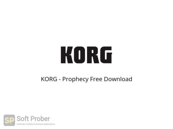 KORG Prophecy Free Download-Softprober.com