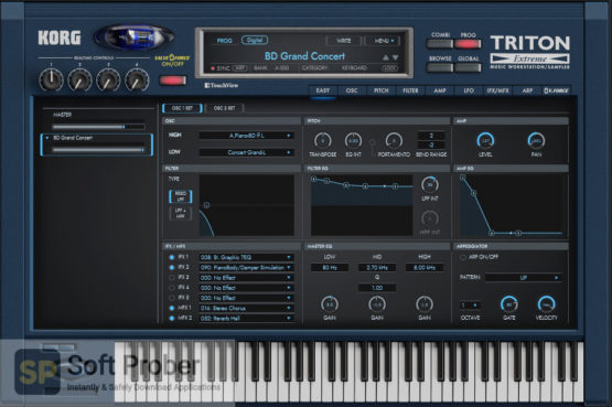 KORG TRITON Extreme Direct Link Download-Softprober.com
