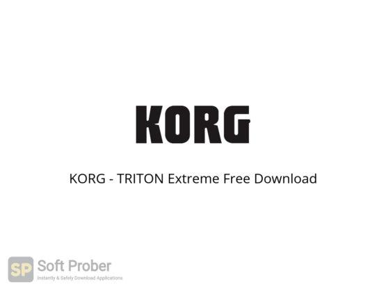 KORG TRITON Extreme Free Download-Softprober.com