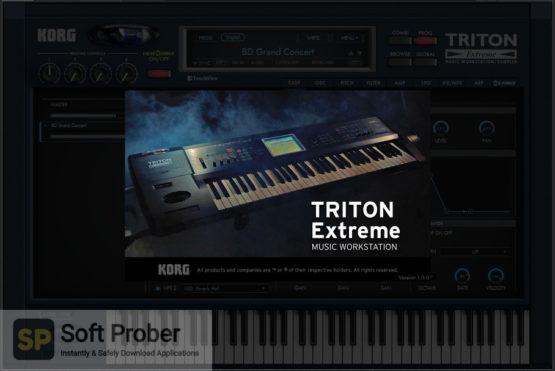 KORG TRITON Extreme Latest Version Download-Softprober.com