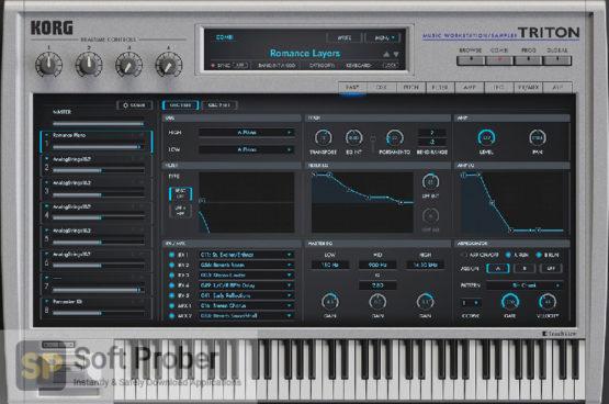 KORG TRITON Extreme Offline Installer Download-Softprober.com