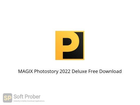 MAGIX Photostory 2022 Deluxe Free Download Softprober.com