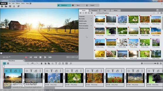 MAGIX Photostory 2022 Deluxe Offline Installer Download Softprober.com