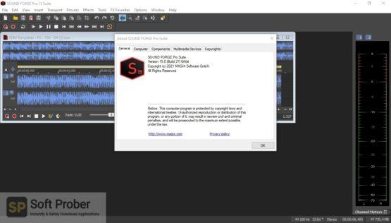 MAGIX SOUND FORGE Pro Suite 2021 Offline Installer Download-Softprober.com