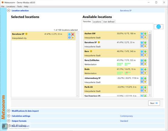 Meteonorm 2021 Direct Link Download Softprober.com
