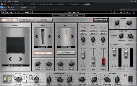 Nembrini Audio 8180 MONSTER TUBE GUITAR AMPLIFIER Offline Installer Download-Softprober.com