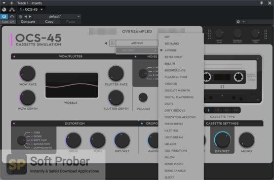 Oversampled OCS 45 Cassette Simulation Latest Version Download-Softprober.com