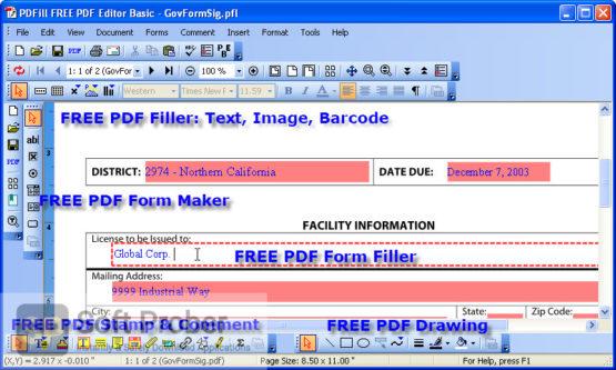PDFill PDF Editor Enterprise 2021 Offline Installer Download Softprober.com