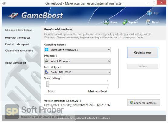 PGWare GameBoost 2021 Direct Link Download-Softprober.com