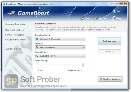 PGWare GameBoost 2021 Latest Version Download-Softprober.com