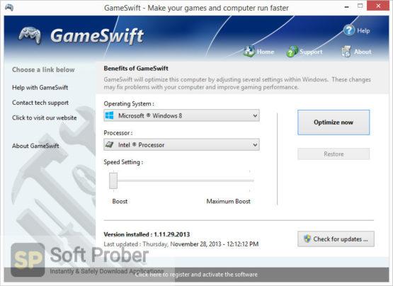 PGWare GameSwift 2021 Direct Link Download-Softprober.com