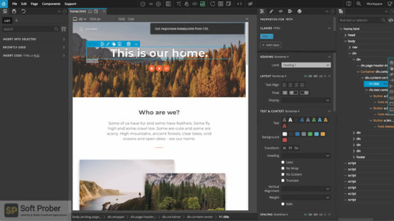 Pinegrow Web Editor Pro 2021 Direct Link Download Softprober.com
