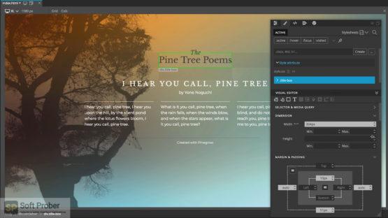 Pinegrow Web Editor Pro 2021 Offline Installer Download Softprober.com